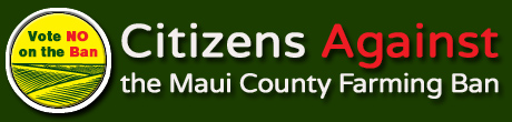 Stop the Maui County Farm Ban